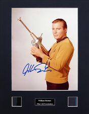 William Shatner Signed Film Cell Presentation