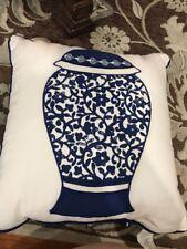 Vase Linen Pillow Case Sofa Waist Throw Cushion Cover Home Decor