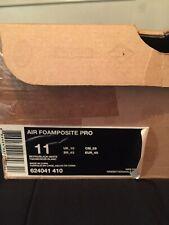 Nike Pro Foamposite Electric Blue