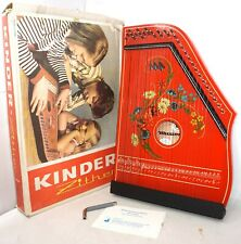 Zither Kinderzither Musima Markneukirchen DDR 1979 in OVP Zither Zupfinstrument