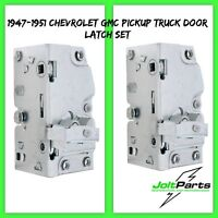 United Pacific 110186-87 1947-1951 Chevy/GMC Pickup Truck Door Latch Set