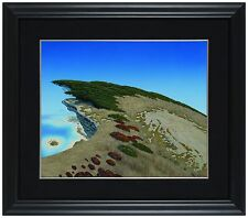 """Bruce Ricker - """"The Wings of Gaia"""" acrylic on canvas, Framed"""