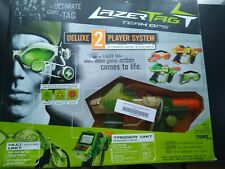 LAZER TAG Team OPS Tiger Deluxe 2 Player System 2 Taggers/2 HUD New in Box