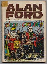 Alan Ford n.43 The Original New Year's Eve Party and. Horn 1973 Magnus & Bunker and