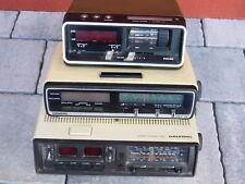 LOT HS retro VINTAGE RADIO REVEIL Alarm clock PHILIPS grundig SIEMENS wecker alt