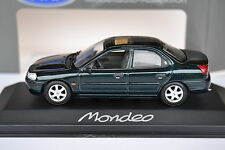 1/43 Minichamps Ford Mondeo Stufenheck dark green metallic 1996-2000