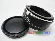 Tilt Nikon AI AI-S F Lens to Sony E adapter NEX 3 NEX 5 NEX 6 NEX 7 NEX C3 5C 5N