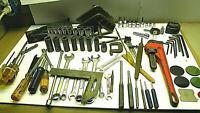 21A29 Junk Box  Tools; Craftsman, Stanley, etc, Machinist, Mechanic; Surprise.