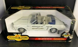 Ertl American Muscle '64 1/2 Ford Mustang Indianapolis Pace Car 1:12 Scale