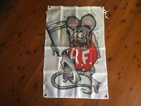Mancave idea outlaw biker poster mancave bar flag man cave banner rat fink Roth