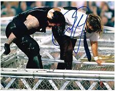 WWE WWF MICK FOLEY MANKIND AUTOGRAPHED 8X10 PHOTO AUTOGRAPH UNDERTAKER 1998 HIAC