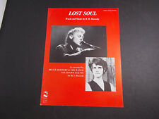 *  BRUCE HORNSBY--LOST SOUL-- -SHEET MUSIC-VINTAGE -
