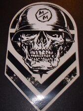"METAL MULISHA Chevron Descendent Skate Sticker 6"" motocross skateboard decal"