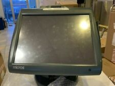 Micros Workstation 5a With Stand 5a Pos Terminal- 400814-101 Lightly Used
