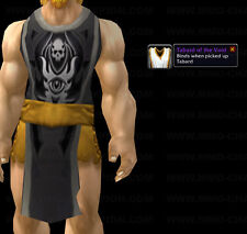 *** TABARD OF THE VOID - BLACK *** WORLD OF WARCRAFT WOW LOOT TCG UDE