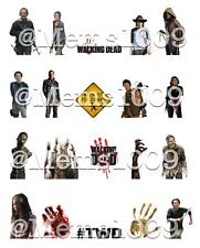 The Walking Dead Nail Art (Water decals)!Zombie Nail Art