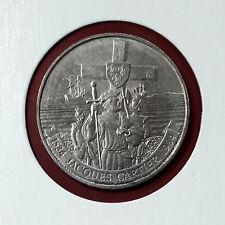 "1984 ""Jacques Cartier"" Canada Nickel Dollar $1 Circulated Coin"