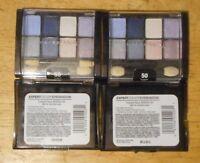 2 eye lot MAYBELLINE EXPERT WEAR EYE SHADOW 50 TWILIGHT RAYS unsealed BLACK CASE