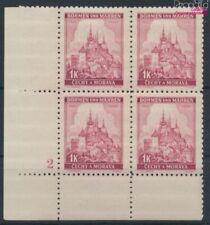 Bohemen en Moravië 28 met Nummerplaat postfris MNH 1939 Praag (9310342
