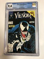 Venom Lethal Protector (1993) # 1 (CGC 9.4 WP) | Black Error Cover | ~200 census