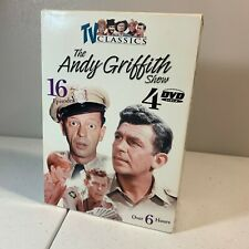 TV Classics The Andy Griffith Show 16 episodes 4 dvd set Used