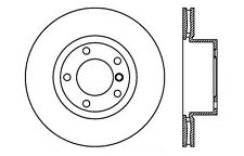Centric Parts 121.34077 Front Disc Brake Rotor
