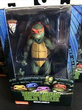 """NECA TMNT Teenage Mutant Ninja Turtles 7"""" Michelangelo 1990 Action Figure Movie"""