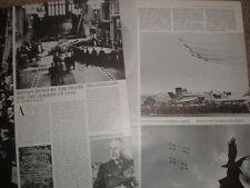 Photo article UK honour the RAF pilots of  battle of britain 1965