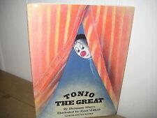 Tonio the Great/Moers/ Wilkon/ German/ circus clowns/ overcoming fears