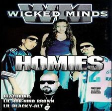 FREE US SHIP. on ANY 2 CDs! NEW CD Wicked Minds: Homies