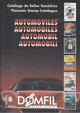Domfil AUTOMOBILES Stamp Thematic Catalogue, 1st Edition, NEW