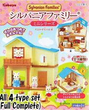 "Sylvanian Families Mini Series  ""House in a breezy hill"" 4pc set miniature toy"