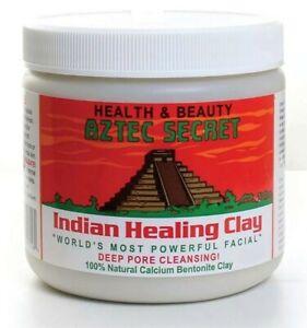 💙Aztec Secret Indian Healing Clay Mask Deep Pore Cleansing FACE & BODY 1LB💙