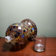 Partylite Global Fusion Mosiac Sconce Candle Holder
