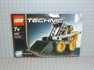 LEGO® Technic Bauanleitung 8418 Mini Bagger ungelocht instruction B2195