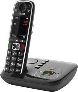 Gigaset E720A - Schnurloses Premium Seniorentelefon mit Anrufbeantworter - NEU!