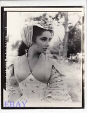 Elizabeth Taylor RARE Photo doubleweight paper