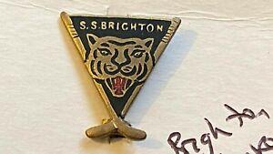 BRIGHTON TIGERS--ICE HOCKEY TEAM---PRE-WAR----METAL BADGE