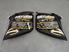 SKI DOO 2006 BLACK SIDE BODY PANELS MXZ RENEGADE 600HO SDI 800HO 800 REV 2007