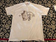1980's Grateful Dead T-shirt Winnie The Pooh Piglet -Xl - Motorcycle - Vintage