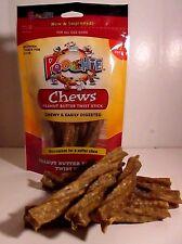 Poochie Dog Treats:12 Pk ofPeanut Butter Twist Sticks & FREE SAMPLE TREATS TOO !