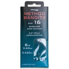 Drennan Method Bandits - Carp Method Size 12 Hook to 8lb