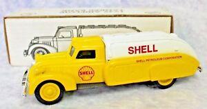 1939 Dodge Airflow Tanker Die-Cast Metal Locking Bank SHELL OIL LOGO