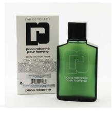 PACO RABANNE Pour Homme 3.4 oz. EDT Men's Spray Cologne Tester NEW 100 ml