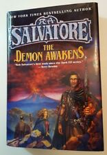 The Demon Awakens: R. A. Salvatore Hardcover Book 1997 NY BESTSELLING AUTHOR