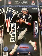Tom Brady New England Patriots Fathead Teammate Sticker Wall Decal 9x17
