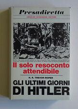 Gli ultimi giorni di Hitler Fascismo Eva Braun Goring Goebbels Speer Borman