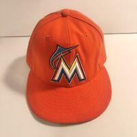 Miami Marlins Vintage 90's New Era 59fifty 7 1/2 Inch Hat Snapback Baseball Cap