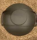 Le Creuset Cast Iron Wok New In Box Made In France