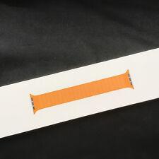 Genuine Apple Watch Strap California Poppy Leather Link 44mm /42mm NEW
